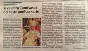 Articolo sulla Gazzetta di Reggio il 9 dicembre 2012